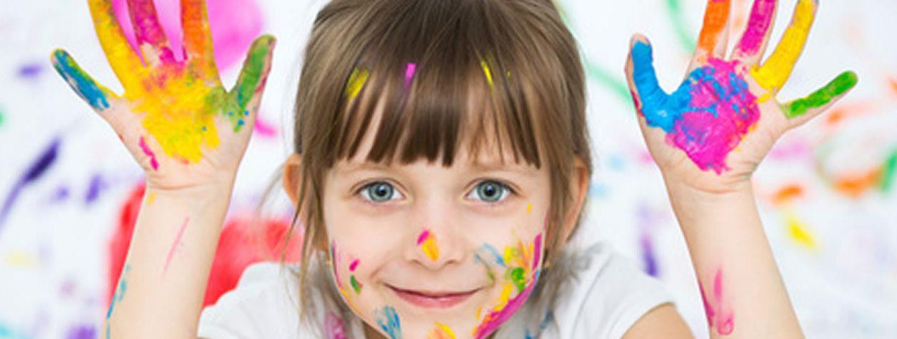 stock photo of messy child
